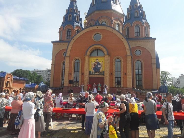 День Крещения Руси в храме Державной иконы Божией Матери
