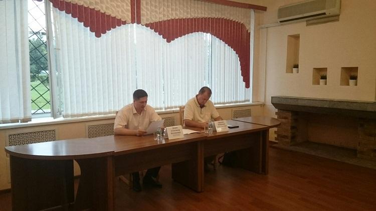 На встрече с главой управы района