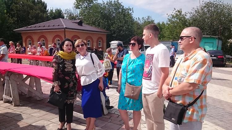 Гости праздника в честь Дня Крещения Руси