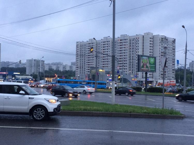 Вид на улицу Чертановская