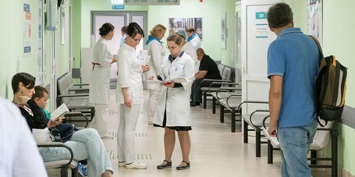 В поликлинике Москвы
