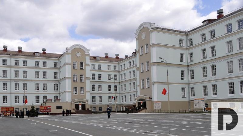 На базе Семеновского полка