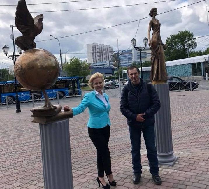 Лариса Зайцева вместе с Александром Селивановым