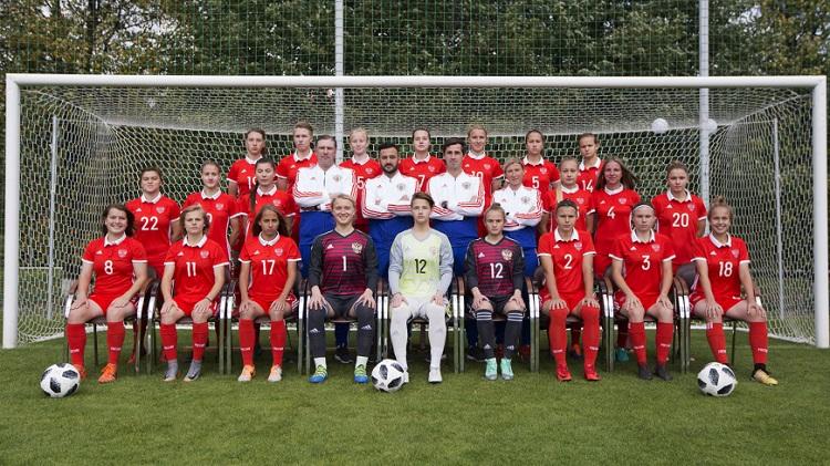 Женская молодежная сборная России
