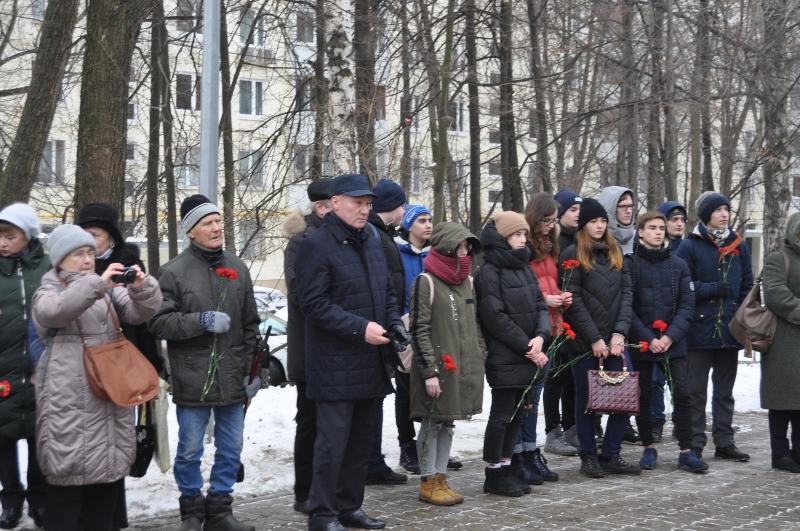 """Митинг в честь """"Битвы под Москвой"""""""