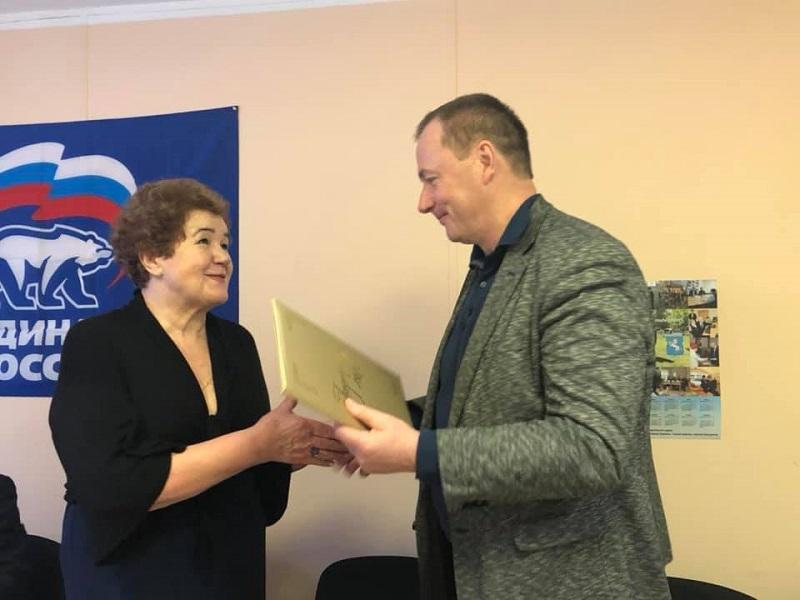 Председатель районной организации «Чернобыль – Защита» Нина Мокроусова отметила юбилей