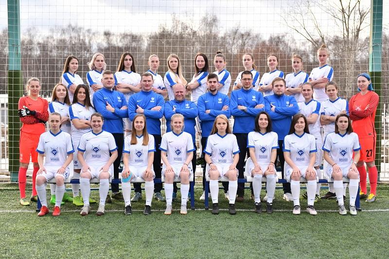 Женская сборная Чертаново по футболу 2019