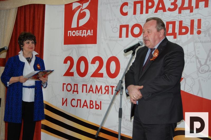 Алексей Челышев, вручение медалей, ветераны.